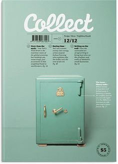 Collect #print #design #layout #cover #magazine #editorial #masthead