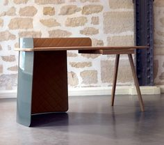 Big Boss Desk by Piergil Fourquié #furniture #design #desk