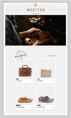 Wootten #website #layout #design #web