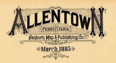 Allentown%2C+Pennsylvania+March+1885.jpg (1600×879) #design #typeography