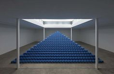 It's Nice That : Cyprien Gaillard: The Recovery of Discovery #blue #art