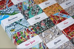 CITIx60 city guide books presented by 60 creatives