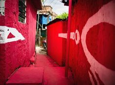 Boa Mistura — Luz nas vielas — Europaconcorsi #urban #architecture #art
