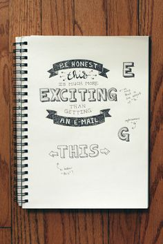 Hand Lettering Practice #3 | Wit & Whistle