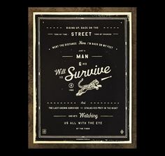 The Best Part - A Daily Art and Design Blog #design #graphic #poster #typography