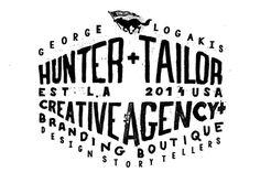 Hunter+Tailor / Designer Story Tellers L.A #script #lettering #hand #typography