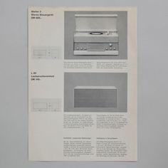 Braun Information fur den Fachhandel 1962 via www.dasprogramm.org