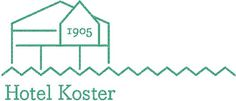 Logo designed by Bedow for Swedish oceanside accommodation and conference centre Hotel Koster. Featured on bpando.org
