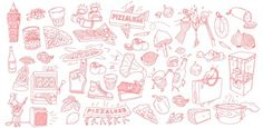 PizzaLuxe Illustration 1 #pattern