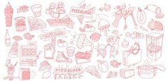 PizzaLuxe Illustration 1 #pattern