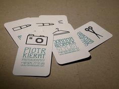 31 Creative Business Card Designs for Your Inspiration - You The Designer | You The Designer