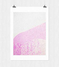 landscape series - 1 #tranquil #pink #print #design #texture #landscape #calm #leriquiqui #series #art #pastel