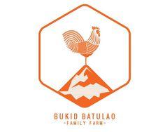 Bukid Batulao Logo #logo #illustration #badge