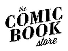 Dribbble - Comic Book Store Logo by James Viola