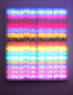 Stefan Brüggemann at Yvon Lambert « YVON LAMBERT #art #neon