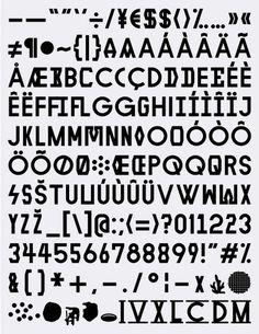 XIX I MMXI #walter #font #karl #typography #design #warton #nawro