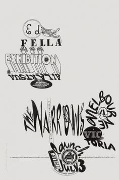 The Narrows | Contemporary Art and Design Gallery | Melbourne Australia #fella #ed #typography