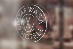 Hotel, logo, logotype, typography, round, window, sign, identity