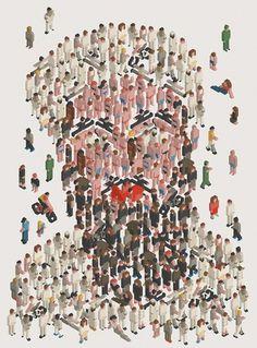 Siggi Eggertsson | Osama #illustration #siggi #osama #eggertson