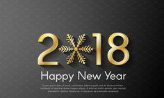 Happy New Year 2018 Free Hd Desktop Wallpaper – WallpapersBae