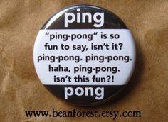 ping pong ping pong ping pong #pong