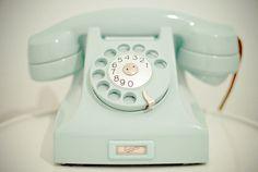 retro | Tumblr #telephone #retro #mint #pastel