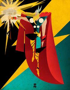 Marvel comics tribute   patriciooliver