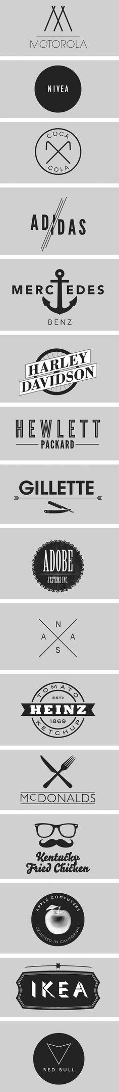 ha hipster logos