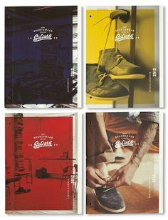 Goliath Sportswear Identity from Studio Beige | Miss Design #identity #retro #branding #typography