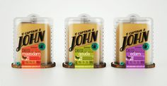 Captain John packaging by Galya Akhmetzyanova & Pavla Chuykina branding