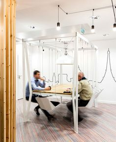Workspace Decor by Studio Razavi Architecture - #office, office design, office space, #interior,