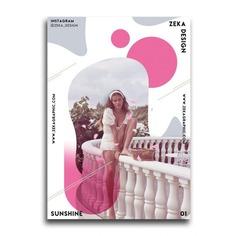 Sunshine Poster Design Collection