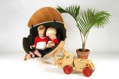 Hideaway Chair #design #wood #kids