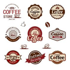 9 Free Coffee Badges