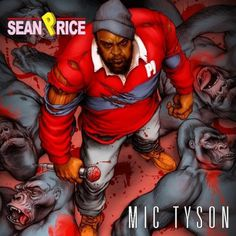 http://thediggersunion.com/wp content/uploads/2012/09/Sean Price MIC Tyson cover e1347909609661.jpg #cover #illustration