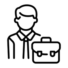 See more icon inspiration related to businessman, worker, man, avatar, employee, people and professions and jobs on Flaticon.
