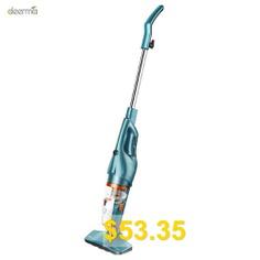 Deerma #DX900 #Portable #Steel #Filter #Vacuum #Cleaner #- #MACAW #BLUE #GREEN