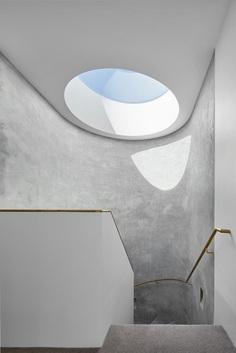 Armadale Residence – Minimalissimo #minimalism #minimal #concrete #stone #skylight #stairs