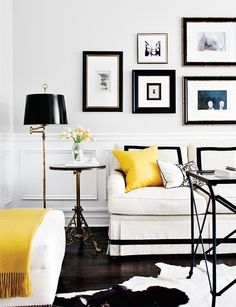 HIGH ROAD.LOW ROAD #yellow #& #white #black