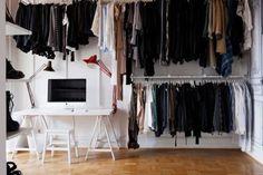 tumblr_lr5l0dw6211qzh0vno1_500.jpg (500×333) #interior #white #wardrobe #homes
