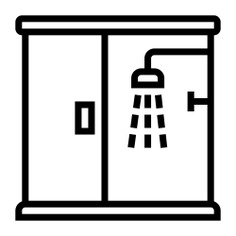See more icon inspiration related to bathroom, shower, door, glass, furniture and household, hygiene, relax, and medical on Flaticon.