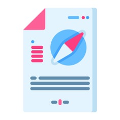See more icon inspiration related to plan, compass, maps and location, files and folders, organize, orientation, files, file and location on Flaticon.