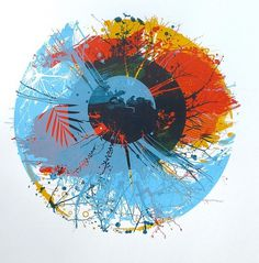 CHRIS KEEGAN #chris #print #screenprint #eye #illustration #nature #life #keegan
