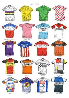 DavisSparshott_jerseys #cycling #illustration #jersey