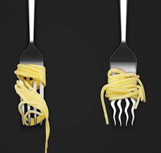 With the Twister spaghetti fork you won't need to worry about pasta slipping out of your grasp. #product #design #industrial