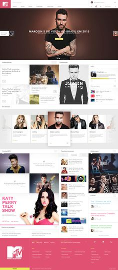 MTV – Redesign & Rethinking #web design #ui #ux #interface #mtv