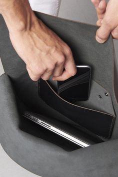 PURITAAN backpack pocket iphone