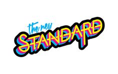 Chris Baker | The New Standard Logo #cmyk #logo #standard