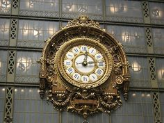 I'M NOT WORDY #clock #ornate