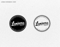 Luminous Photography Logo - WRMSNFCTD | Creative Contagion #logo #stamp